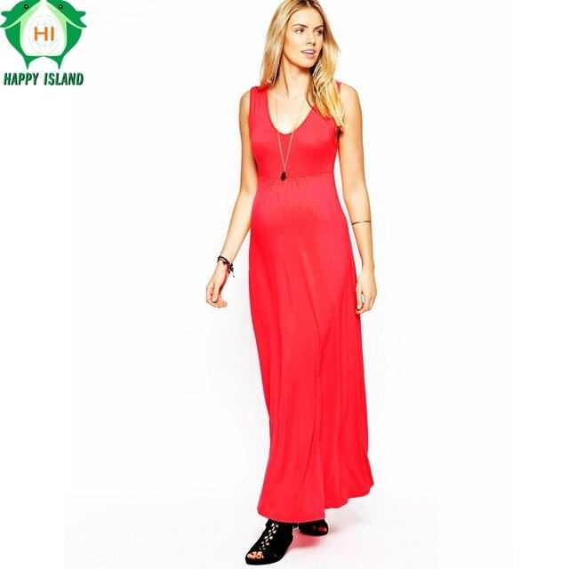 Lovely Maternity Clothing V Neck Long Evening Gowns Dresses For ...