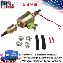 High Performance Universal Electric Fuel Pump Self- primming Transfer Pumps 5/16 inch, 5-9 Psi, 20-30 GPH Number E8012S, FD0002,