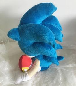 Image 4 - Anime Bebek peluş oyuncaklar Sonic the Hedgehog 40cm Mavi Sonic peluş oyuncaklar Sevimli Doldurulmuş Çocuk Hediyeler Bebek Erkek Büyük Yumuşak Oyuncaklar çocuklar için