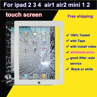 100 Tested New For Ipad 2 3 4 Touch Screen For Ipad Mini 1 2 Air