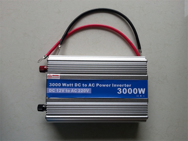 цена на 3000W-5,Modified Sine Wave power inverter 3000w peak 6000W DC12V to AC 220V dc ac car Power Inverter,Body size:340mm*205mm*80mm