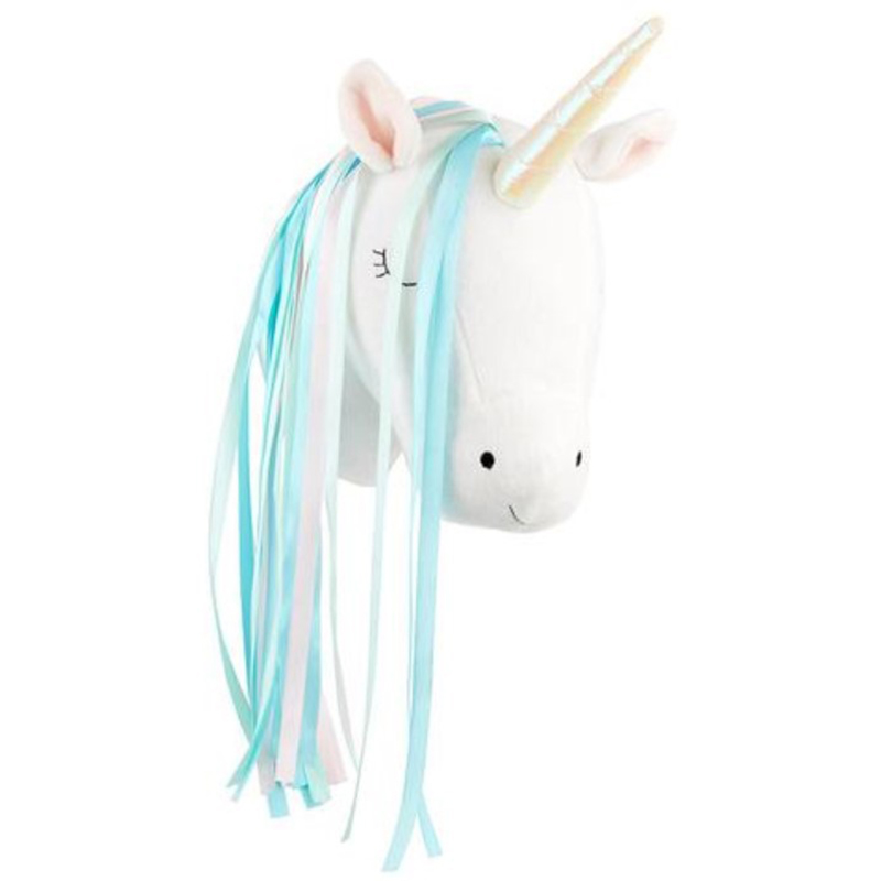 Soft Plush Animal Wall Decoration Head Toys Stuffed