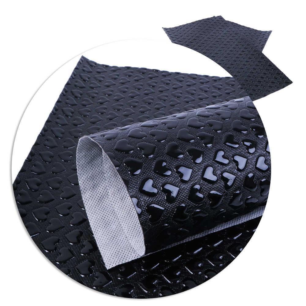 Nuovo 20*34 centimetri Cuore Pompa Faux Pelle Sintetica Per Bow-nodo borse Del Raccoglitore Della Copertura Del Telefono Scrapbook FAI DA TE, 1Yc4780
