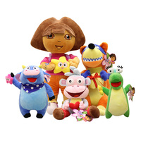 40 50 70CM Dora Explorer Plush Toys Dora Doll Monkey Doll For Children S Toys 1pcs