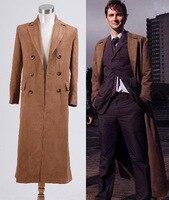 ¿ quién es el Doctor Dr. Brown de Trench Coat trajes de Cosplay traje traje para Moman