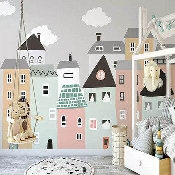 Personalizado Mural Papel Pintado Para La Habitacion De Los Ninos