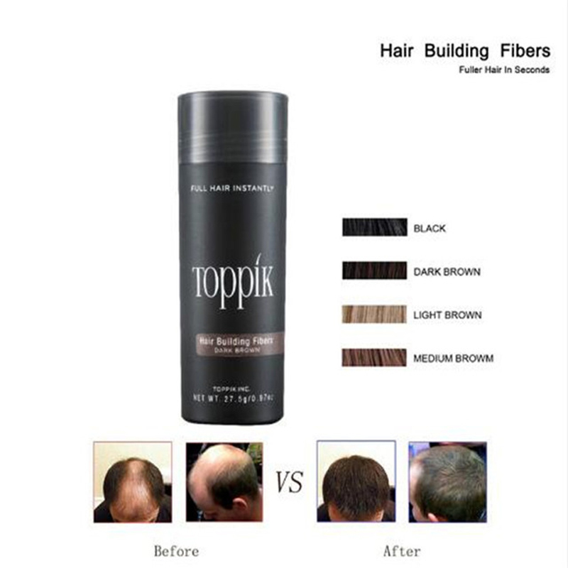 Dower Me 27.5g Hair Building Fibers Black 9 Colors Full Instantly Fibras Capilares