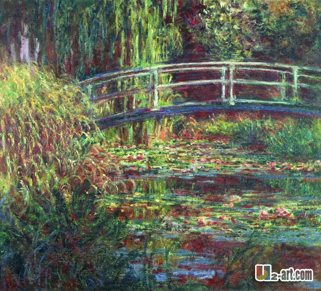 Canvas prints impressionism oil painting claude monet water lilies art prints 10 gw