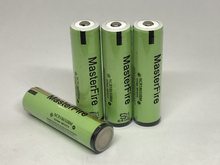MasterFire 10pcs/lot New Original Protected 3.7V 3200mAh NCR18650BM 18650 10A Current Power Tool Battery with PCB For Panasonic