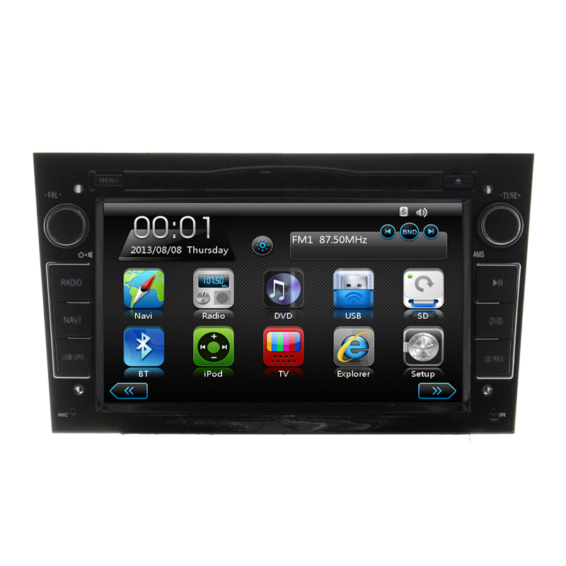 free shipping hd 7 car dvd player gps navigation for opel. Black Bedroom Furniture Sets. Home Design Ideas