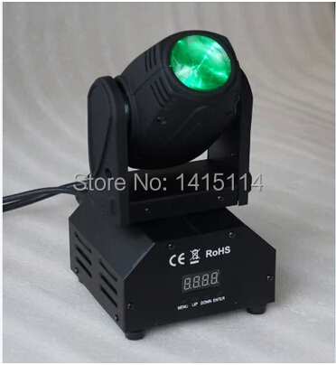 8pcs/lot 1pcs*10W RGBW led mini beam moving head light led dmx stage lighting disco dj equipment for bar ktv night club
