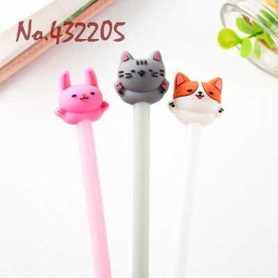 4 piezas lindo Paw Chi dulce casa gato Gel pluma recargable boda cumpleaños decoración chico amigo regalo para el hogar partido favores suministros