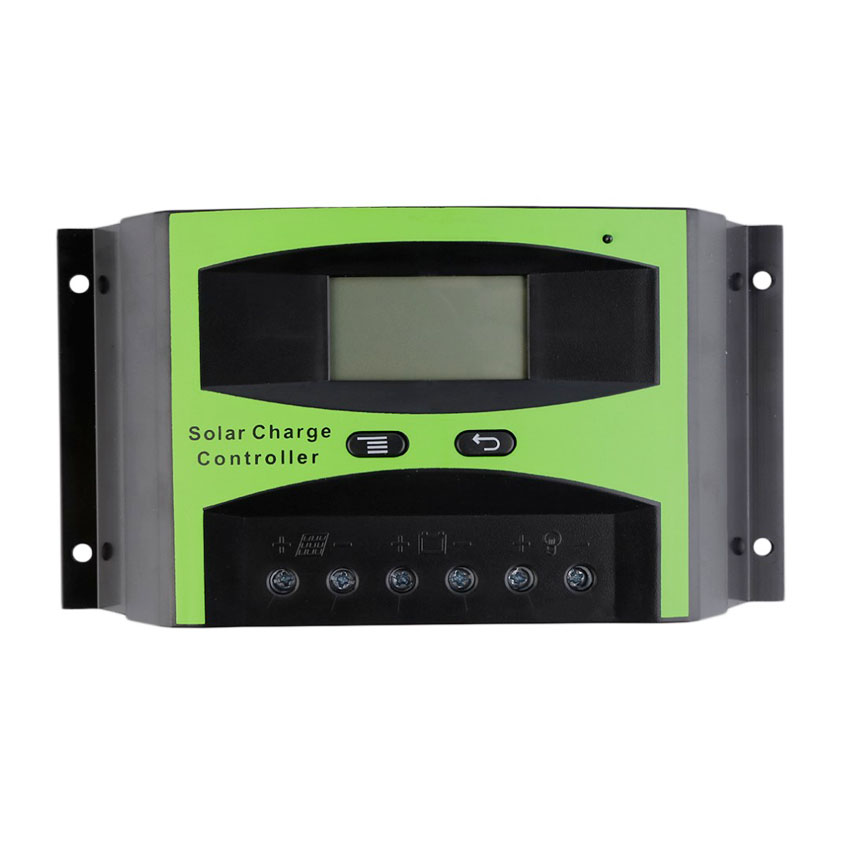 LCD 50A 60A 48V Solar charger Controller Solar cells Panel Battery Charge Regulator 300W 400W 500W