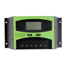 ЖК-дисплей 50A 60A 48 V Солнечное зарядное устройство контроллер панель солнечных батарей регулятор заряда аккумулятора 300 W 400 W 500 W 1000 W 2000 W 3000 W
