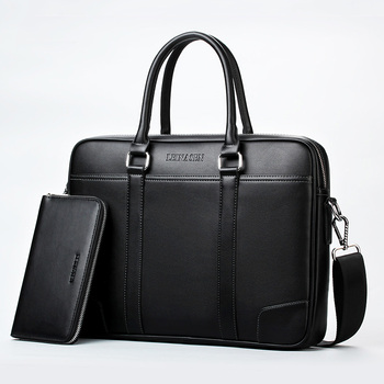 d4fe81f342bd Бренд деловой портфель для ноутбука сумки Мужчины плеча Сумки Дизайнерская  портфель высокой емкости сумка дорожные сумки