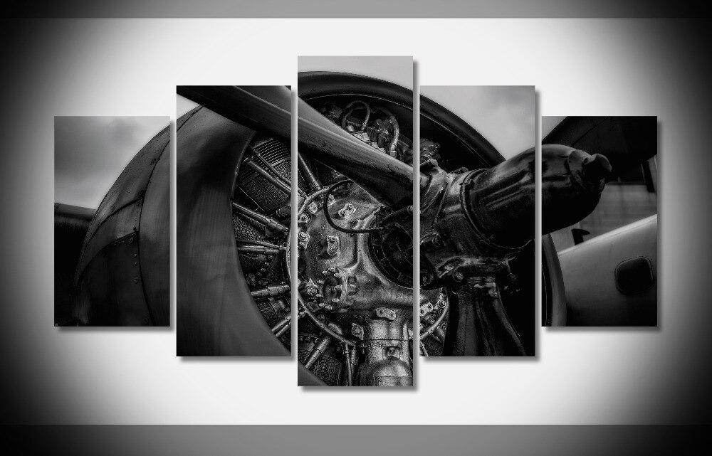 4411 Retro flugzeug flugzeug flugzeug Mode schwarz und weiß Farbe ...