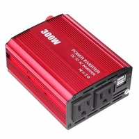 300w DC 12V To AC 110V Inverter Adapter Converter Car Vehicle Auto Power Inverter With dual USB 3.1A For Moblile Ipad Laptop