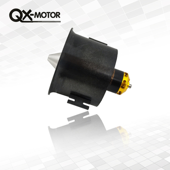 QX-Motor 70mm Electronic Ducted Fan 12 Blades EDF With 2827 KV2600 Brushless Motor Toy For RC Drone Model Parts Wholesale 2