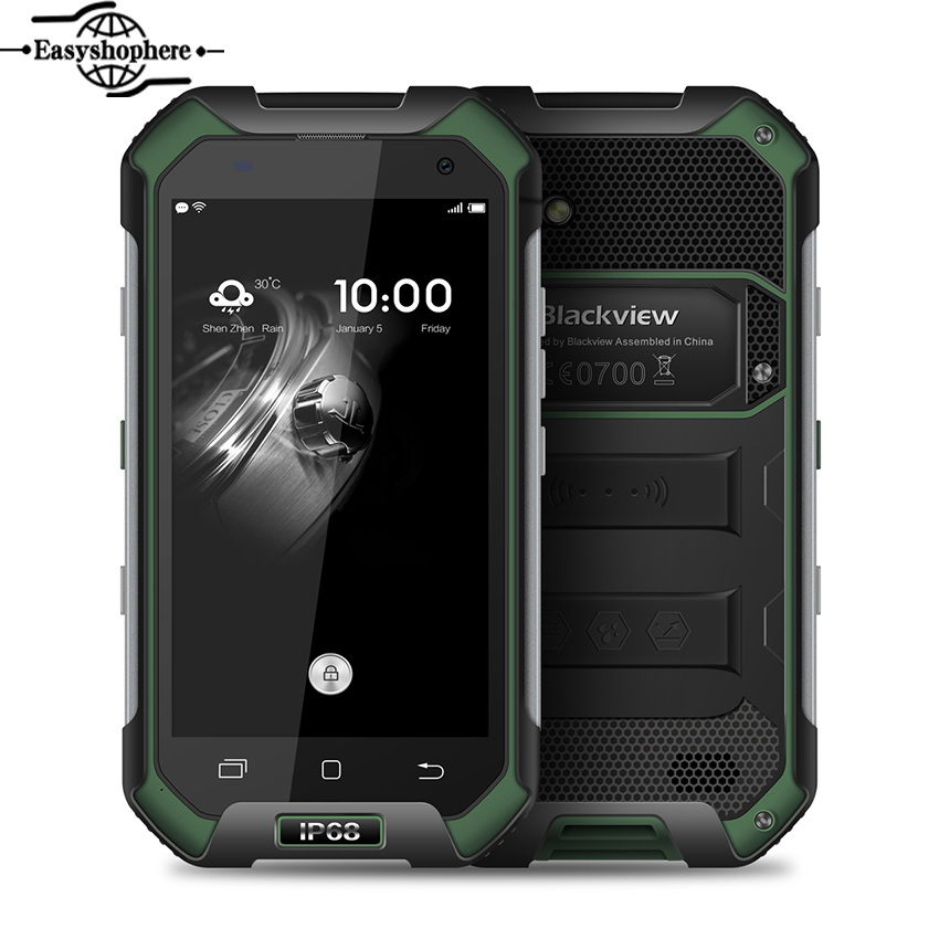 "Цена за 4.7 ""Blackview BV6000 IP68 Водонепроницаемый Телефон Окта основные 3 ГБ 32 ГБ 4200 мАч Смартфон Android 6.0 MTK6755 13.0MP 4 Г LTE Телефон"