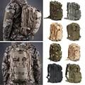 2016 30L Waterproof Nylon Attract Military Camo 3P Backpack Rucksack Trekking Shoulder Bag Pack;Paquete de tactica militar