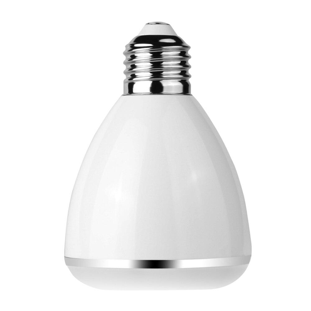 Wireless bluetooth 9W LED speaker bulb Audio Speaker E27 RGBW music playing & Lighting Smart Colorful Bubble Ball Lamp