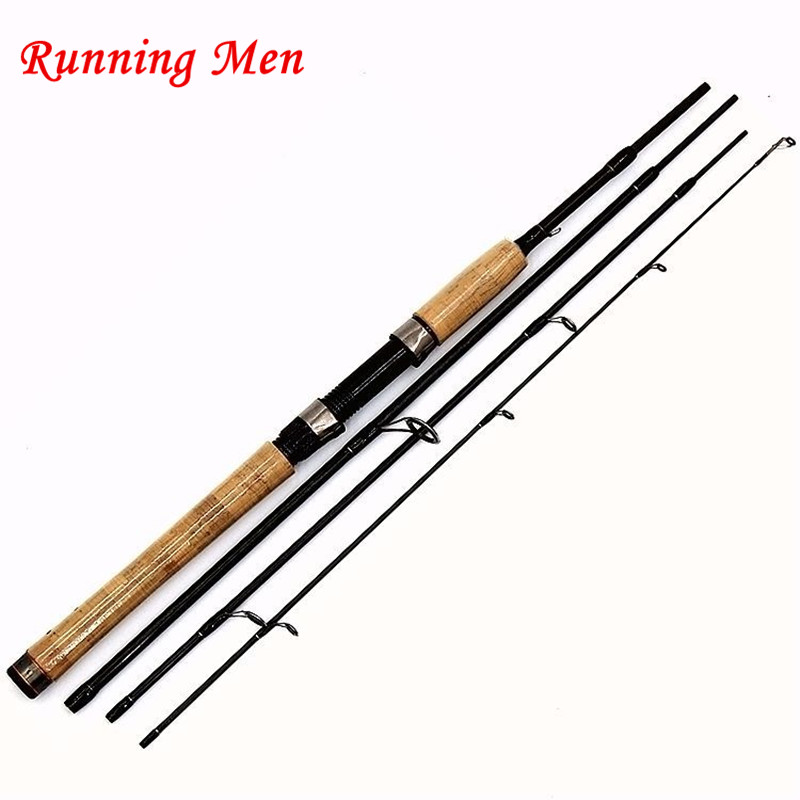 ФОТО 2017 The latest design  4 Section 2.1m 2.4m 99% Carbon Casting Rod Spinning Lure Fishing Rod For Pole Fishing rod
