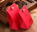 diamond embroideryBridal Wedding Candy Box wedding candy box candy red peony red pearl Chinese wind candy box