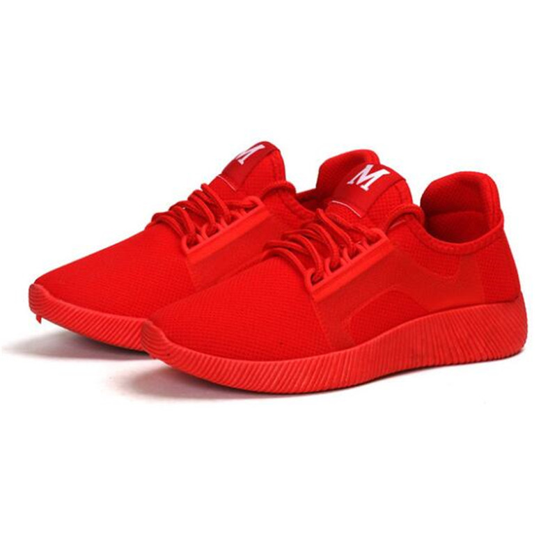 DIWEINI 2019 2018 Spring And Summer Designer Wedges Red Black Platform Sneakers Women Shoes Casual Air Mesh Female Shoes Woman