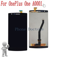 5 5 Full LCD DIsplay Touch Screen Digitizer Glass Assembly For OnePlus One A0001 Black New