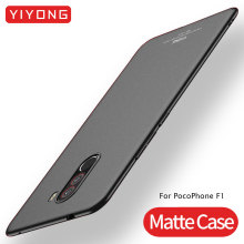 For Xiaomi Pocophone F1 Case Slim Skin Matte Cover Xiomi Hard Frosted Poco