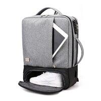 Travel Backpack Men Anti Theft 15.6 Inch Laptop Bagpack Bag Male USB Notebook Business Large Backpacks Waterproof Teenagers Bags