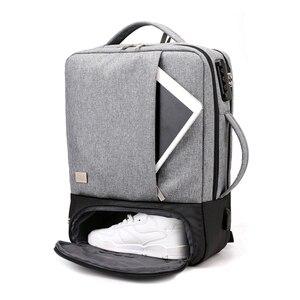 Image 1 - Mochila de viagem masculina, antirroubo 15.6 laptop Polegada bolsa masculina para notebook usb impermeável