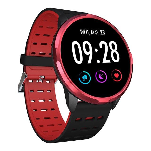 2019 SENBONO ספורט 1 חכם שעון IP68 waterproof קצב לב צג שעון GPS פעילות tracker Smartwatch לגברים נשים