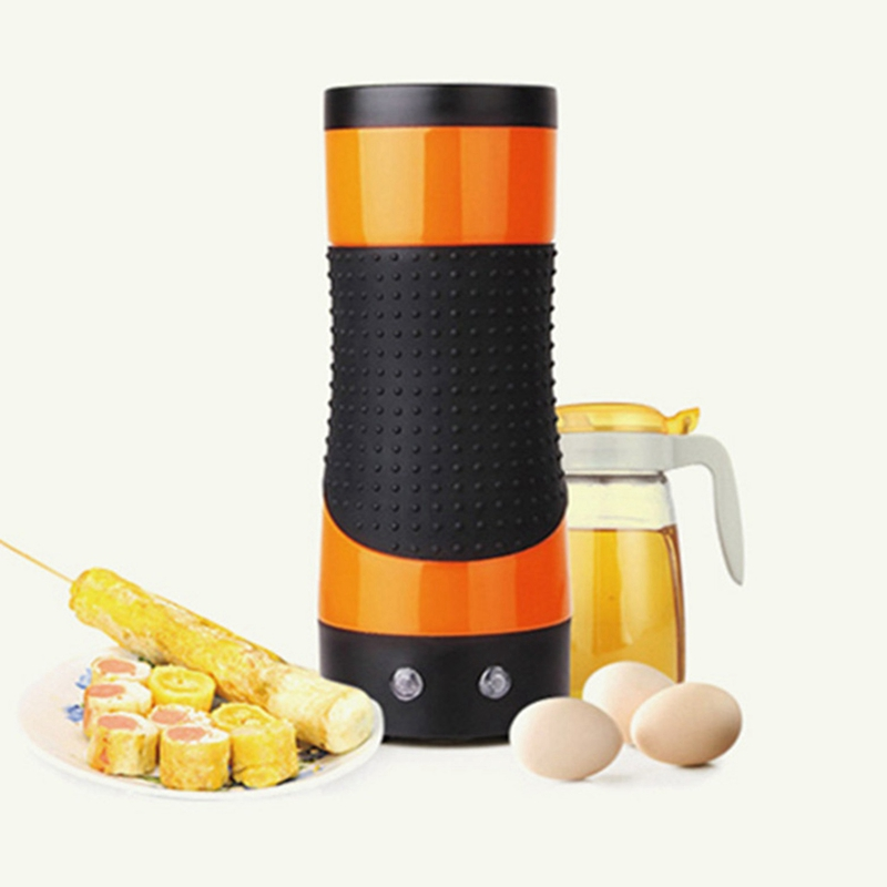 Electric Egg Boiler Automatic Egg Roll Maker Egg Omelette Master Sausage Machine Bottle Shaped For Breakfast Home Us Plug