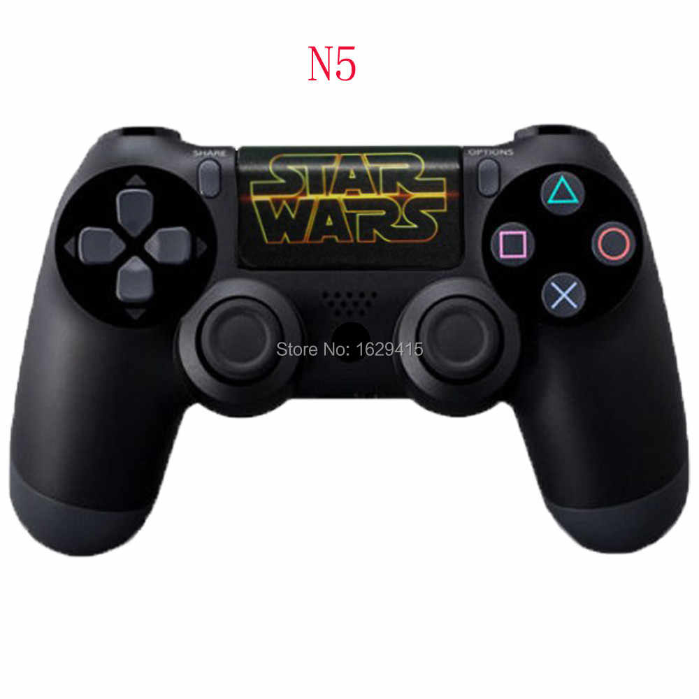 Ivyueen Kustom 1 Pcs PVC Touch Pad Stiker Vinyl Decal Cover UNTUK SONY DualShock 4 PS4 DS4 Pro Slim Controller touchPad Kulit