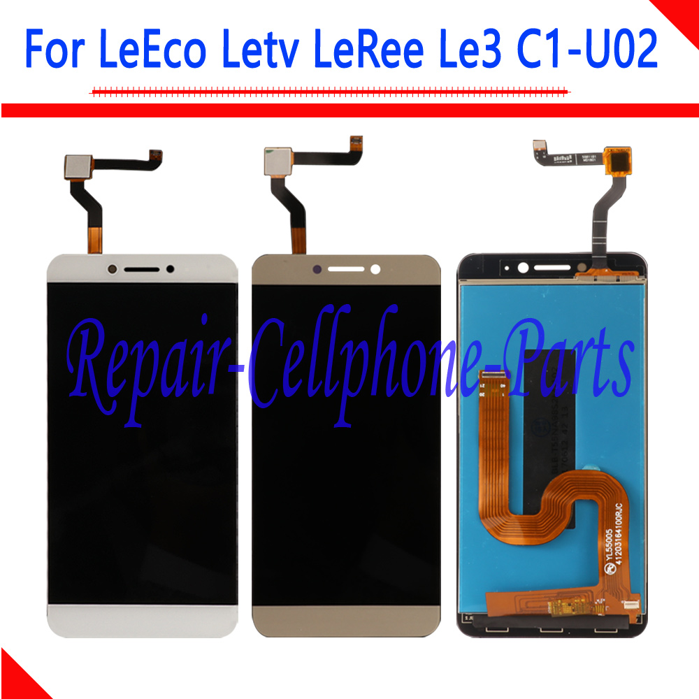 5.5 polegada Novo DIsplay LCD Full + Touch Screen Digitador Assembléia Para LeEco Letv LeRee Le3 C1-U02 Versão Global