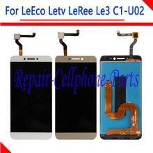 5.5 بوصة جديد كامل شاشة الكريستال السائل + مجموعة المحولات الرقمية لشاشة تعمل بلمس ل LeEco Letv LeRee Le3 C1 U02 النسخة العالمية