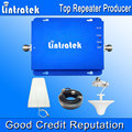 Lintratek 2G 3G Repetidor De Sinal GSM 900 MHz UMTS 2100 MHz amplificador GSM 3G Telefone Móvel Dual Band Signal Booster Conjuntos Completos F22