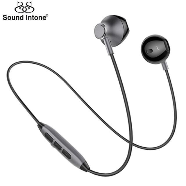 Sound Intone H2 Bluetooth Headphones Sports Waterproof Wireless Earphones Bass Hifi Earpieces With Microphone For iPhone xiaomi