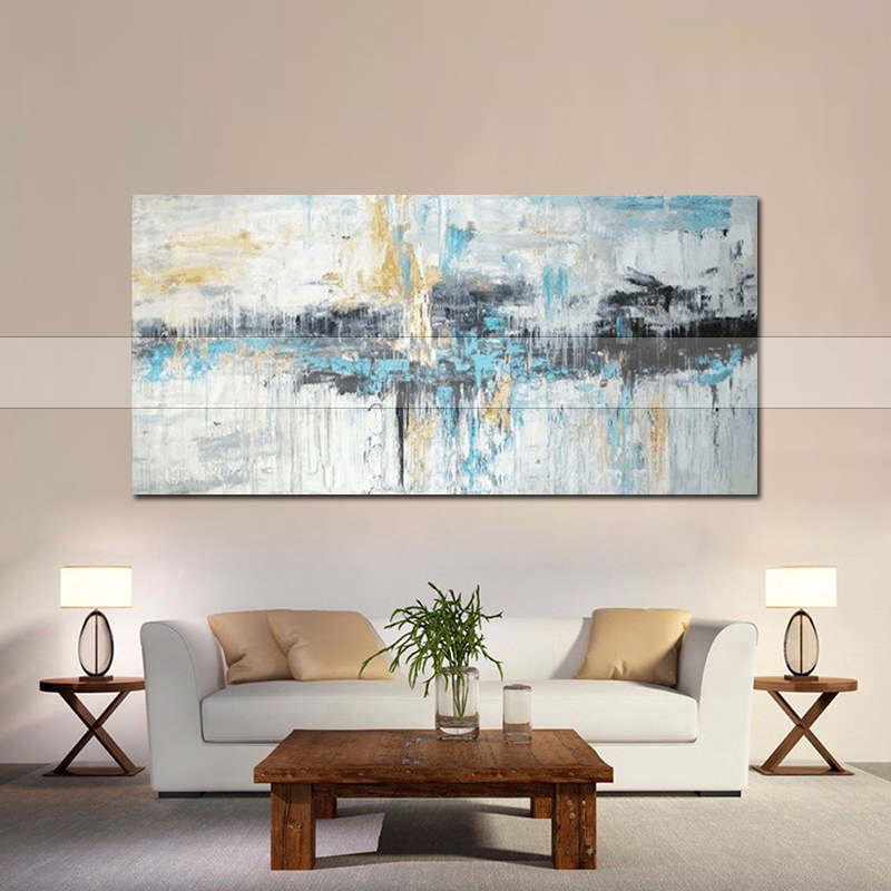 Large wall paintings handmade oil painting Abstract art painting modern wall art canvas pictures for Home