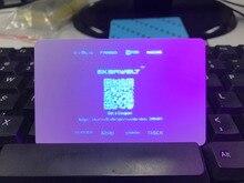 1000 оттисков/рулон УФ флуоресцентные Термальность передачи лента для Зебра ID card printer P310 P330i P430i