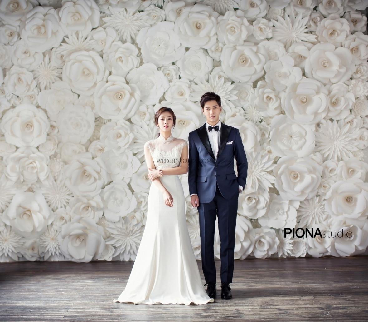 128pcs set gaint wedding paper flowers wall handmade diy mix flowers aeproducttsubject mightylinksfo