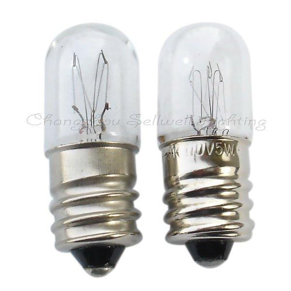 Купить с кэшбэком 2020 New Top Fashion Professional Ccc Ce Lamp Edison Edison 5w T13x34 New! Miniature Bulbs Lighting A106