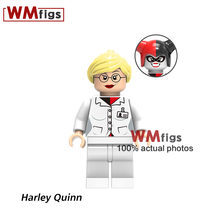 Single Harley Quinn Blocks Nurse Dress Mini Dolls Bricks Building Blocks Baby Toys for Children Birthday Gift Model Christmas(China)
