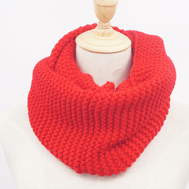 Free Shipping Winter Warm Lovers Knitted For Women Knitting Scarf