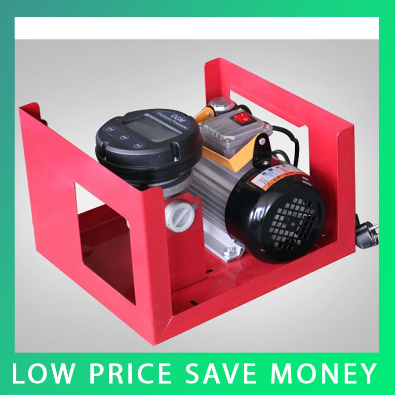 ZYB-70 60/min Oil Pumping Machine 550W Digital Watches Fuel Transfer Pump Unit