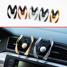 Car Truck Parts Bracket Air Vent Mount Cell Phone Mobile Holder Cradle Telephone Stander Support Interior Accessories