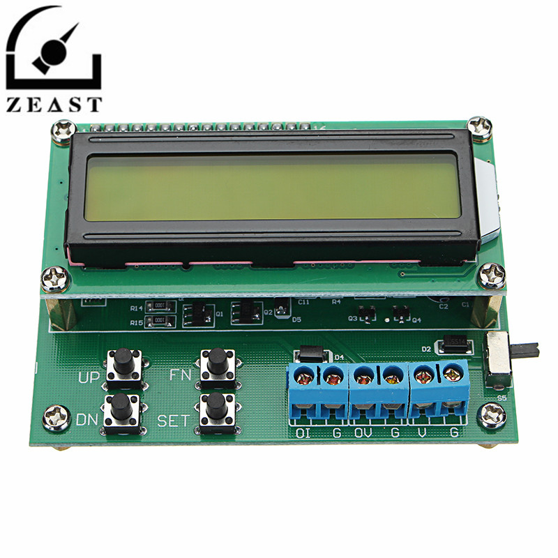 TGC700 4-20mA 10V Digital Voltage Current Signal Generator 20mA Signal Transmitter With LCD 1602 Display voltage to turn current 0 5v3 3v 10v to 4 20ma 0 20ma 1 5v to 4 20ma potentiometer tune