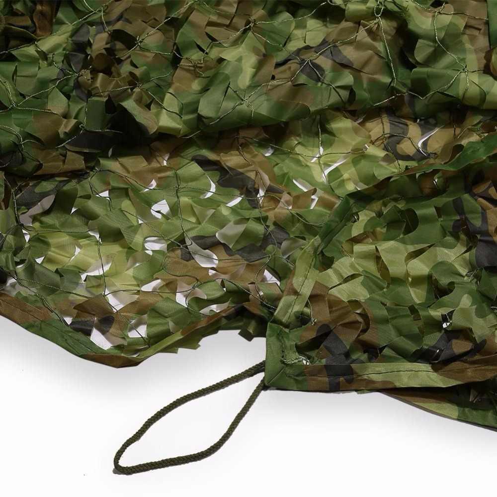 1.5*5m camuflagem rede selva camo stealth netting caça/acampamento/abrigo de pesca esconder fundo fotografia militar