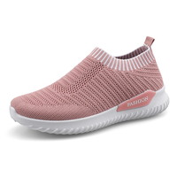 2019 New Air Mesh Tennis Shoes Women Outdoor Sport Shoes Female Soft Lightweight Breathable Tennis Students Flats Non Slip Shoes